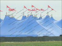 Radio 1's Big Weekend - Tents on the skyline