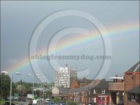 Rainbow curves above the Carlisle skyline