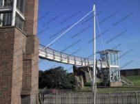 The Irish Gate Bridge was designed by the Jane Derbyshire and David Kendall partnership