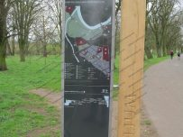 New noticeboards have been installed in Bitts Park