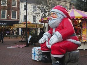 Santa in Carlisle