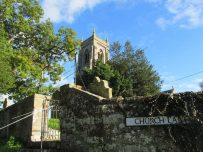 Thursby church set against a blue sky