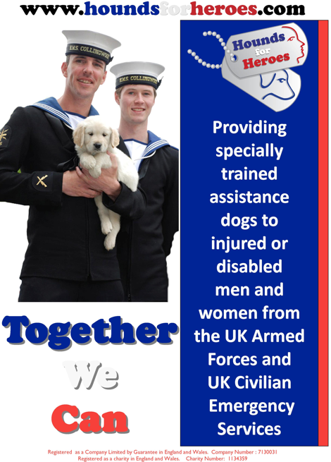 Hounds for Heroes poster