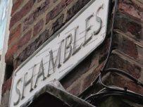 York - Shambles sign