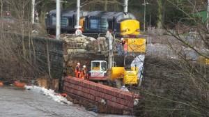 River Caldew bank repairs continue in Carlisle