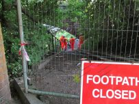 Waverley Viaduct path closure