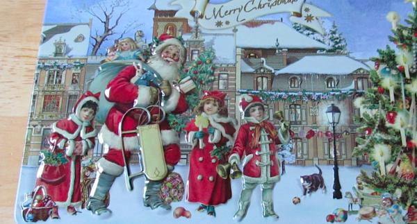 Christmas Chocolate tin from Confiserie Heidel