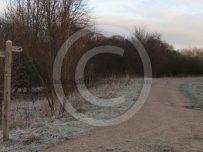 Icy paths and crisp fresh air