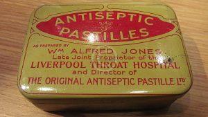 Wm Alfred Jones antiseptic Pastilles Tin
