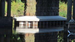 Carlisle rail bridge work to protect central piers