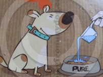Pure - naturally dehydrated dog food