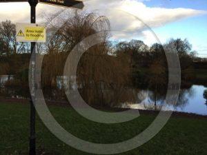Victoria Park still underwater in Carlisle