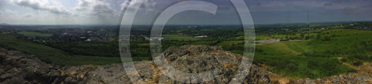 Panorama: Vinegar Hill, Enniscorthy